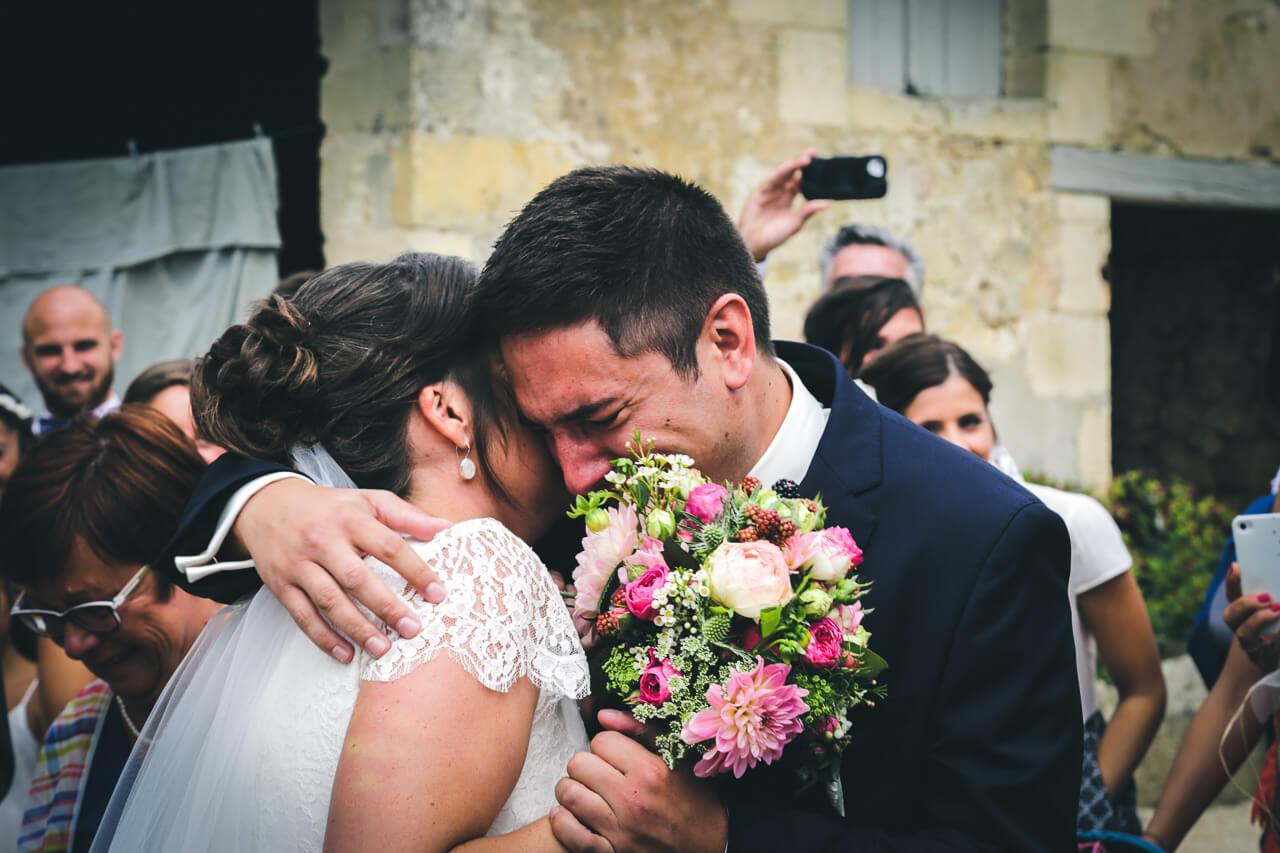 Mathilde et Cédric leur mariage en vieille traction