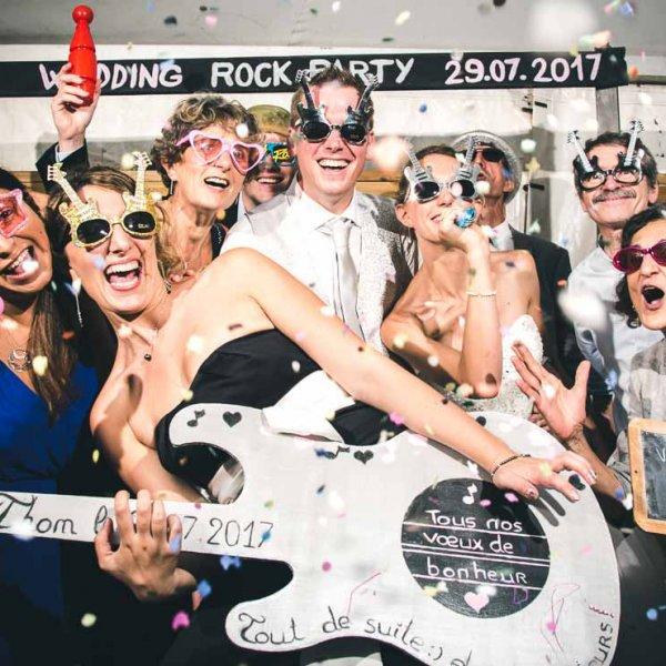 Studio photo ambiance Rock Joie de vivre