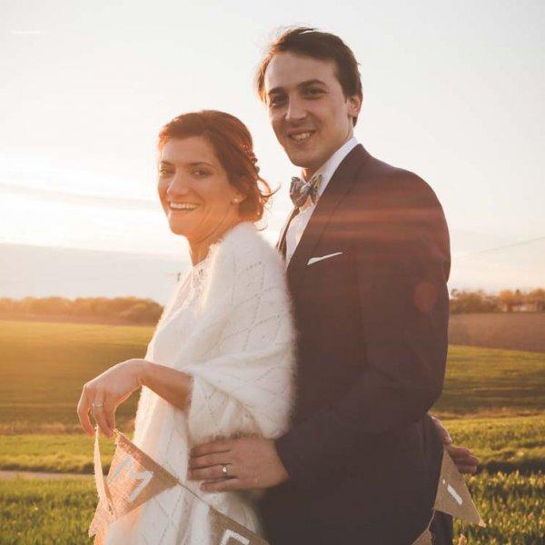 Photos de couple photos graphes de mariage professionnel coucher de soleil remerciements