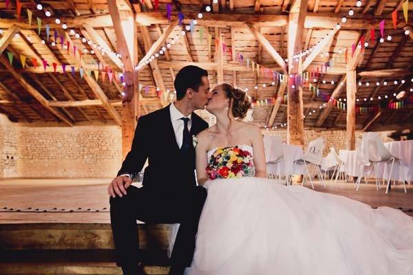 Photographe de mariage salle de reception le grenier des saveur.