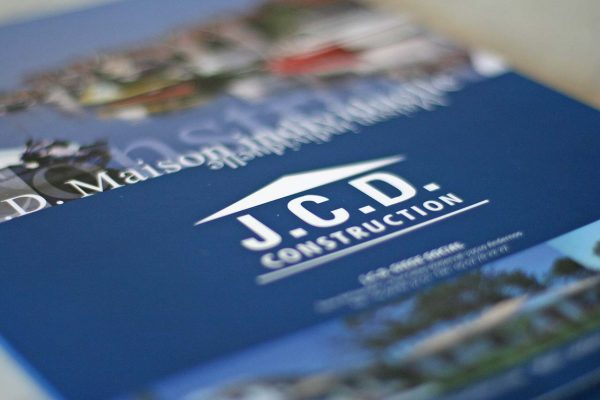 Plaquette institutionnelle produits JCD construction constructeur de maison individuelle