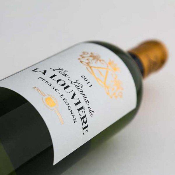 Photo de produits bouteilles château la Louvière lurton