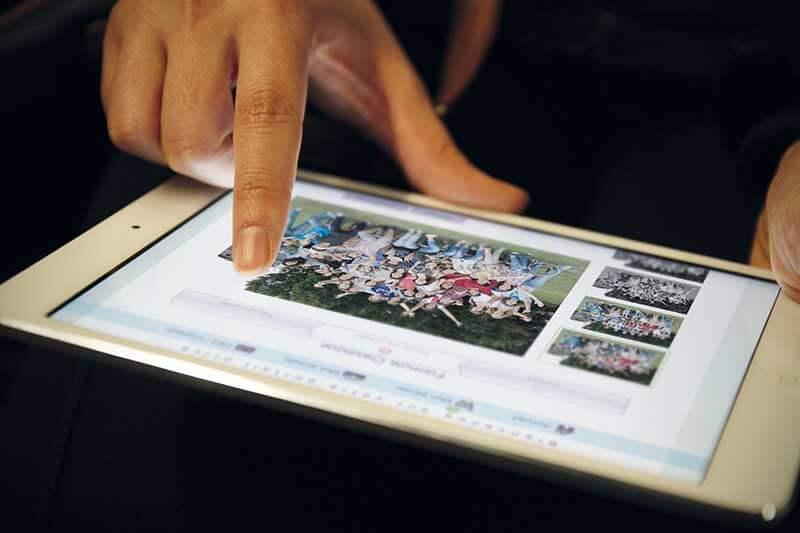 Logiciel de photo scolaire utilisable sur différents supports