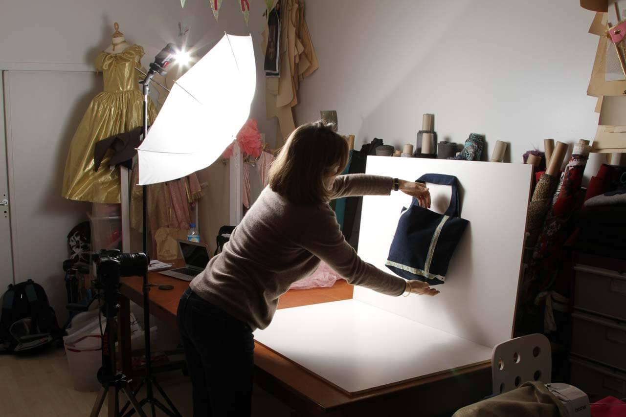 CPF pour la société Popeline par exemple une photo de la mis en place.