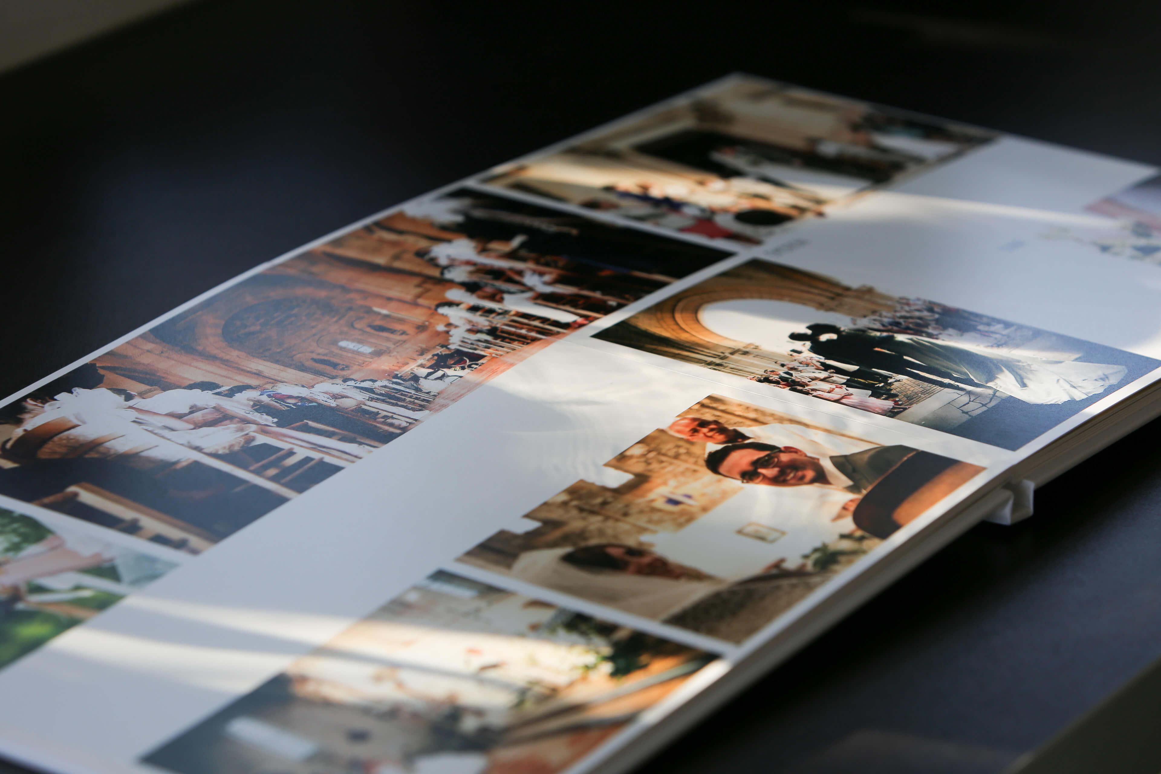 Photo d'accessoires souvenir de mariage Un album 100 % personnalisé avec les meilleures photos de votre mariage