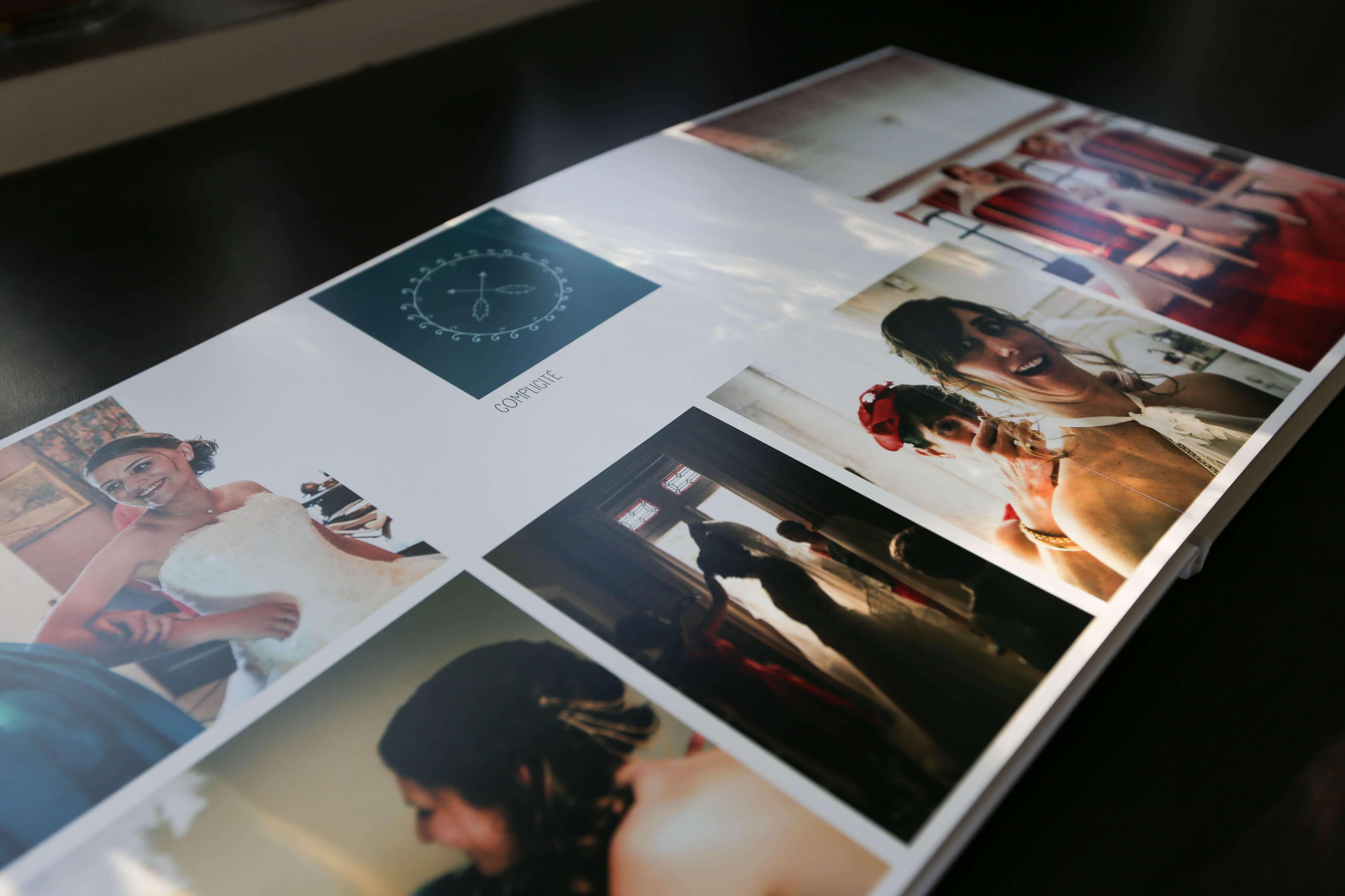 Album de luxe album prestige 300 photos sur toute la page mais pliure