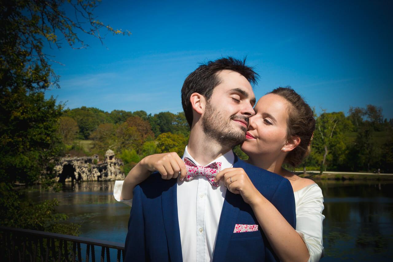 Claire et Alexis Photos de couple ou naturel dans le parc mais je n'en Bordeaux Aquitaine Gironde Blanquefort