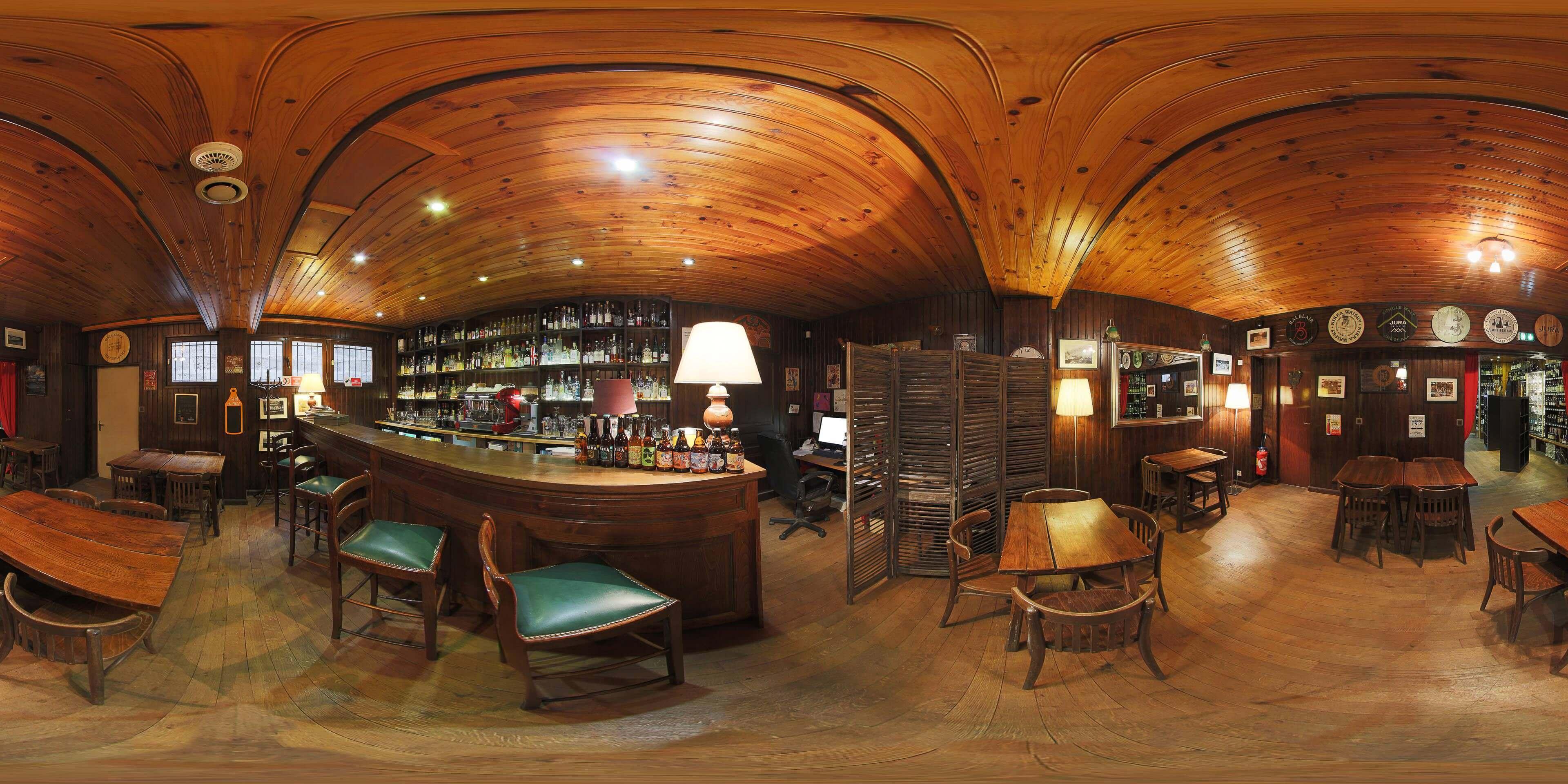 visite virtuelle google Désiré bar.