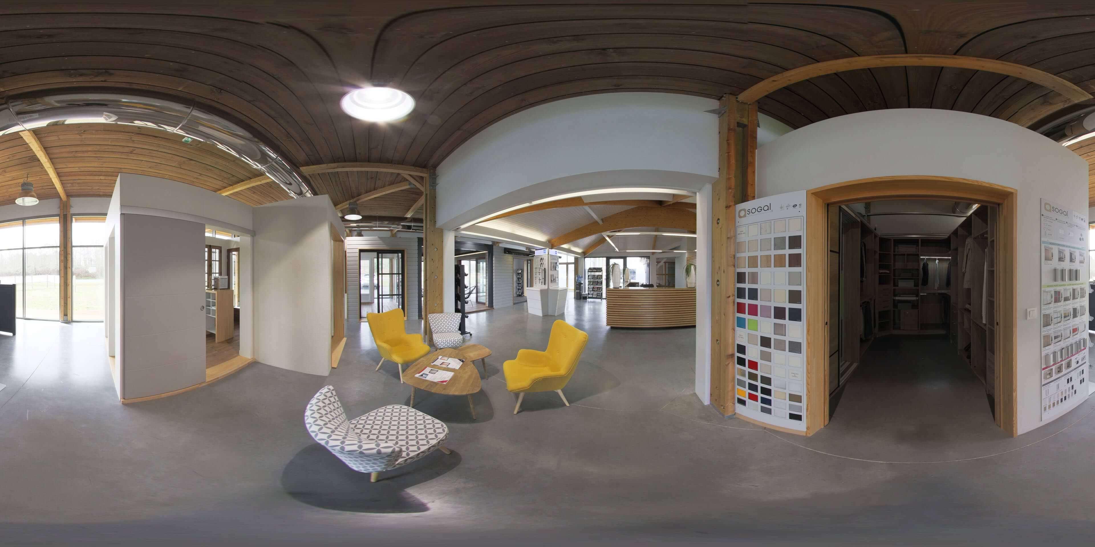 visite virtuelle google pour Loubéry porte et aussi fenêtre.