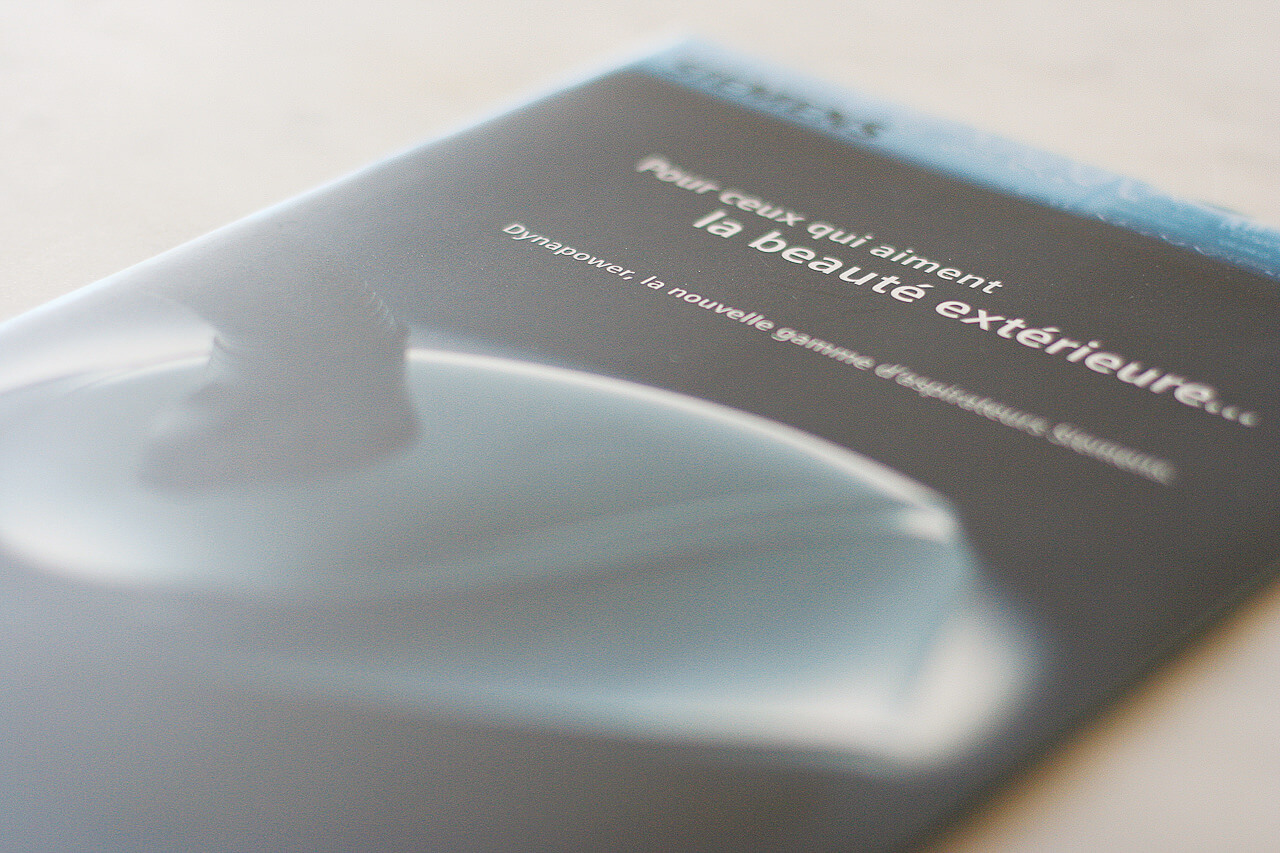 graphiste plaquette Création graphique Plaquettes pour Siemens brochure aspirateur