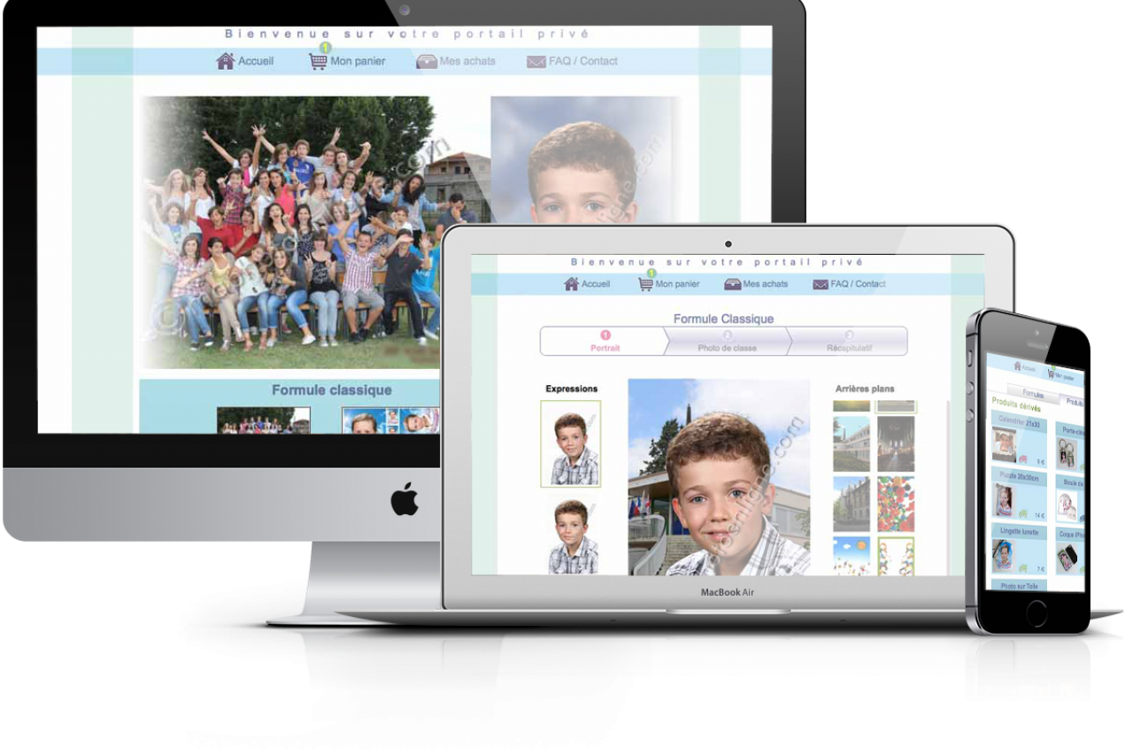 Découvrez le concept inédit de photo scolaire que propose christophe Boury aux établissements scolaires.
