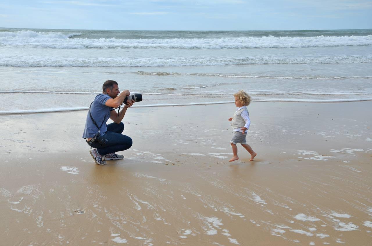 On s'amuse sur la plage aussi a faire des photos et avis des clients émerveillé.