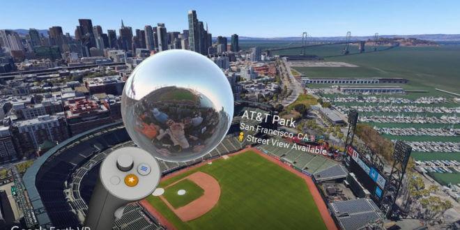 Earth VR permet désormais de voir Google Street View en réalité virtuelle