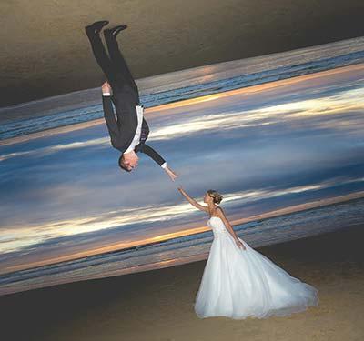 Retouche photo de mariage