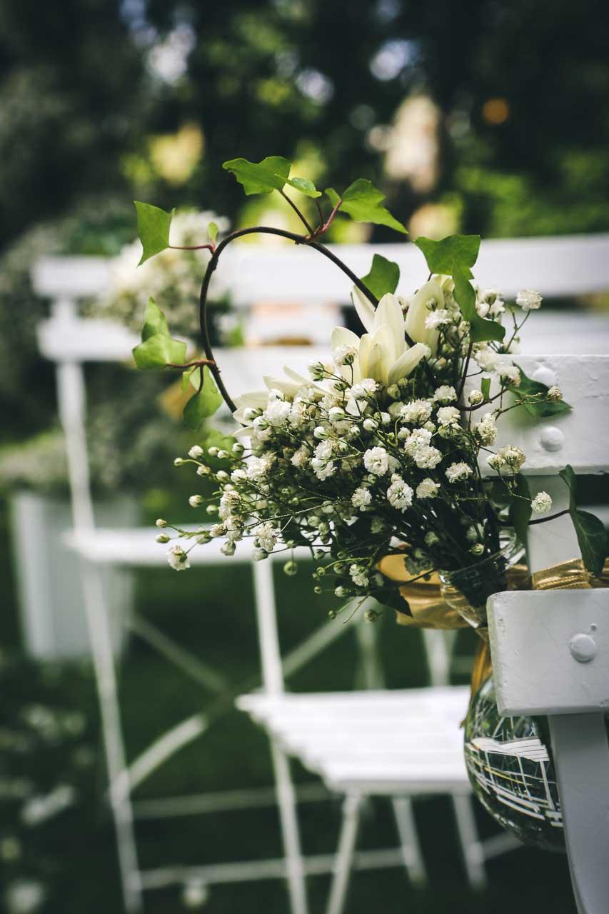 Cérémonie dans le jardin domaine de valmont photo de cérémonie ...