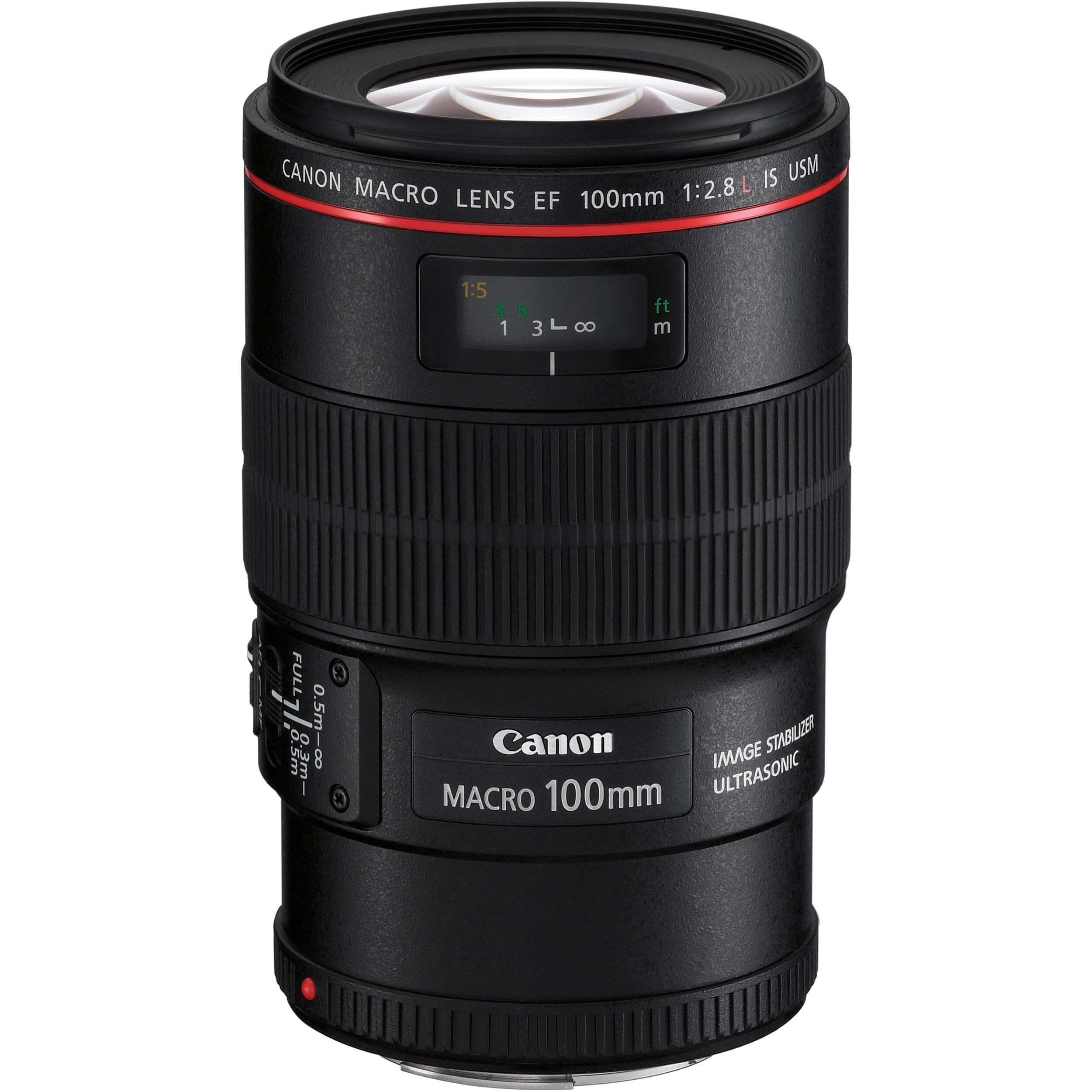 Louer une optique Canon 100 mm Macro Série L f/2.8