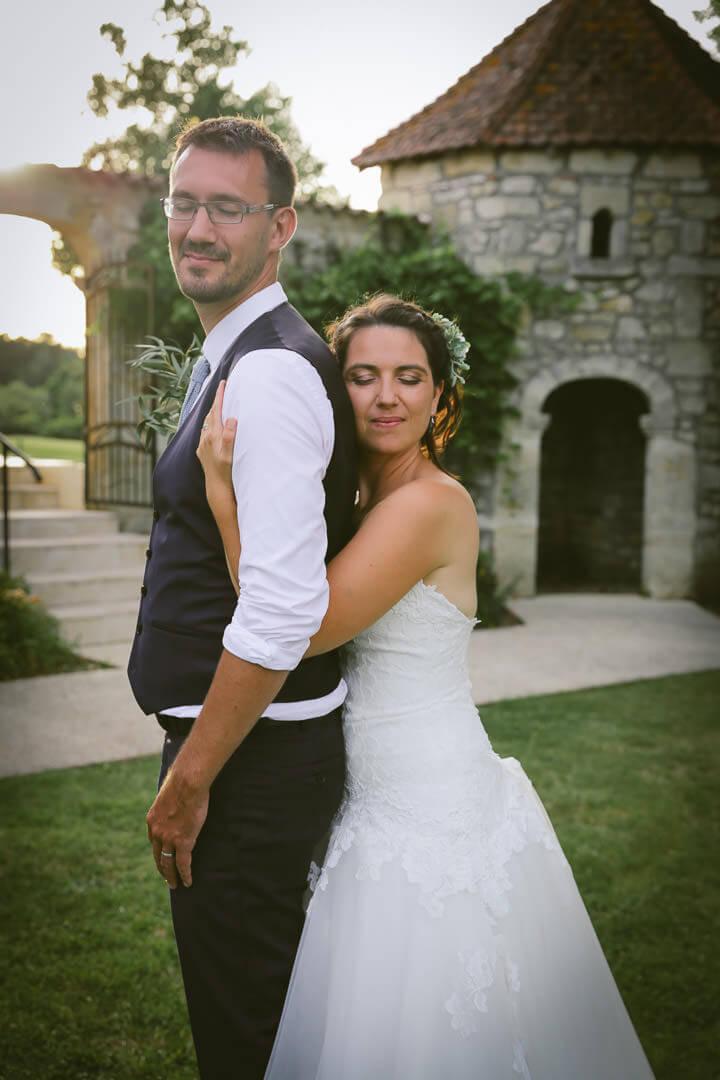 Champêtre et chic et aussi romantique robe de mariee