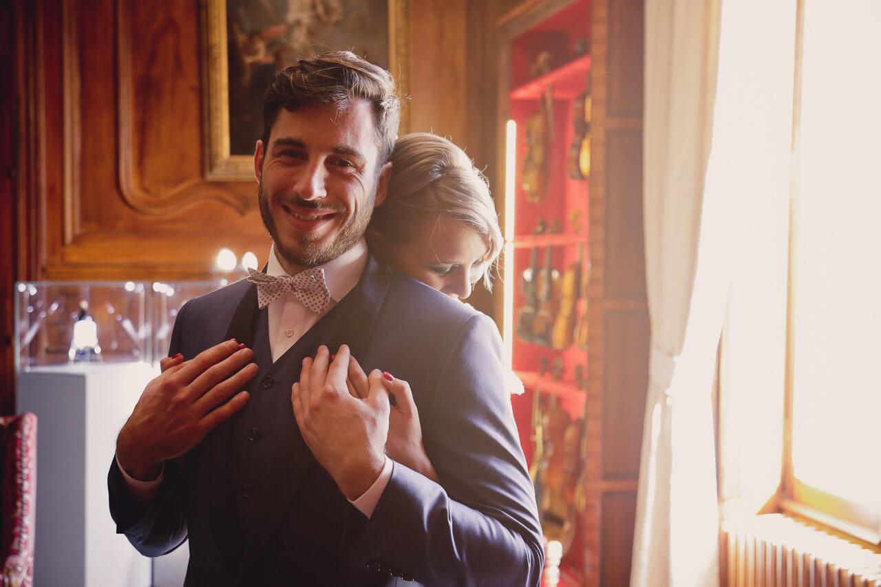 Shooting d'inspiration mariage au Château Pape clément