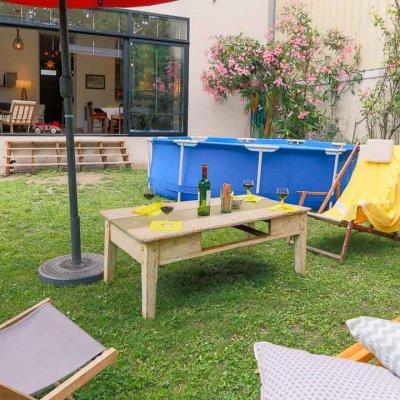 Photo de bien immobilier de location de vacance saisonnièrePhotographie immobilière - Photographe christophe Boury - www.photographe-33.fr - Bordeaux--02